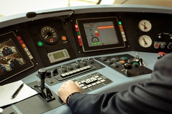Rail engine controls